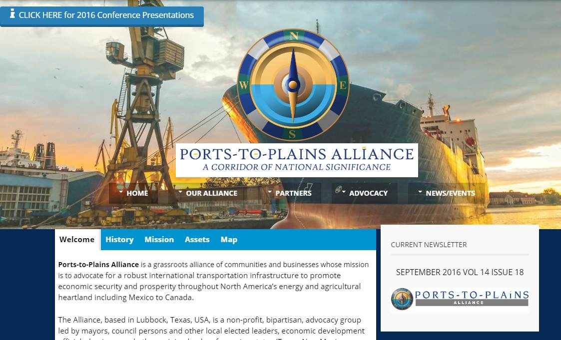 Ports-to-Plains Website